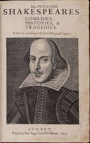 William Shakespeare writes Cymbeline, and the original text of his 154 sonnets is published