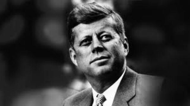 Inaugeration of John F. Kennedy