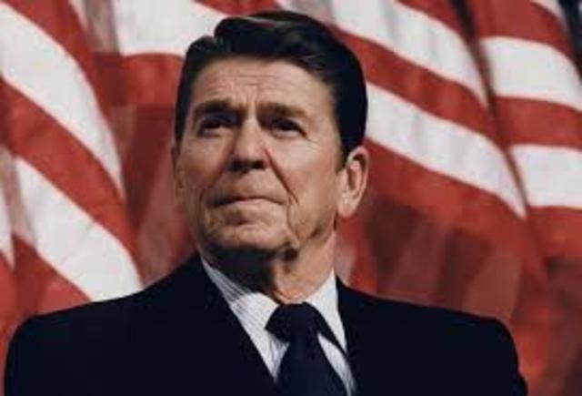 First Inaugeration of Ronald Regan
