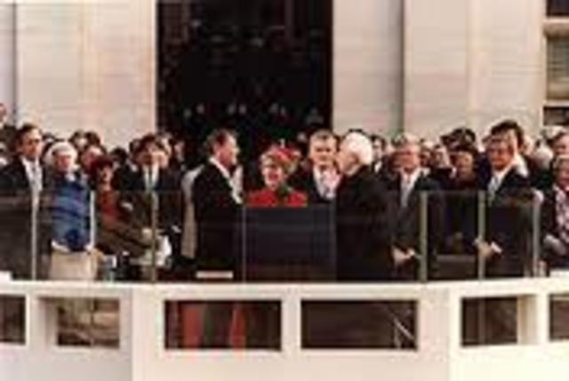 First Inaguration of Ronald Regan