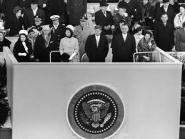 Inaguration of JFK