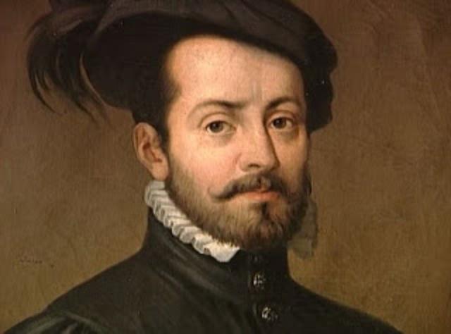 Hernan Cortes set sail to Cuba