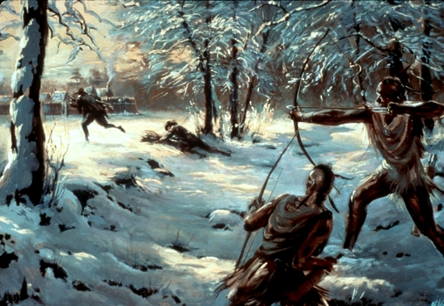First Anglo-Powhatan War ends