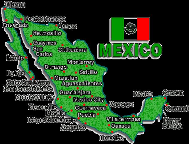 Fui a México.