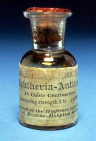 prevención de la difteria