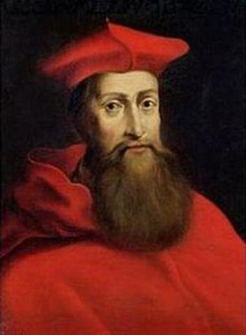 Reginald Pole, an English cardinal, died.