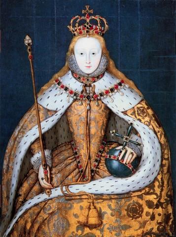 Queen Elizabeth is crowned in Westminster Abbey