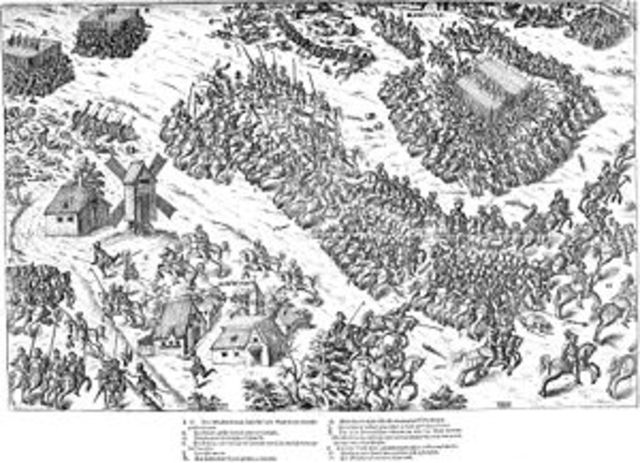 The French Wars of Religion began