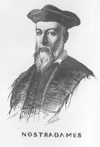 Nostradamus, astrologer and physician, dies