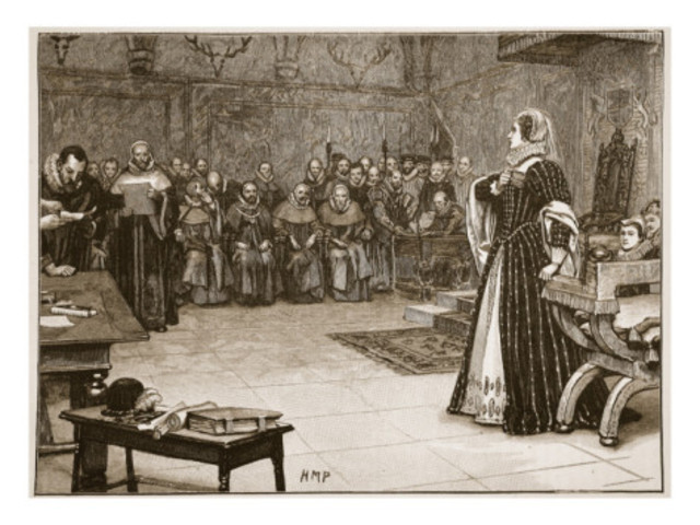 The Conference of York began the trial of Mary Stuart