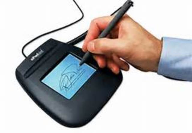 Deadline for Implementation of The Electronic Signatures in Global and National Commerce Act