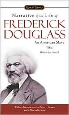 Frederick Douglass published book
