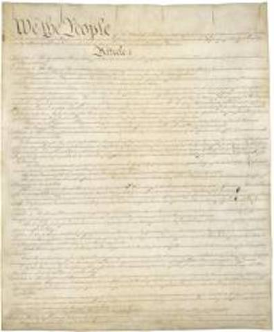 The Ratification of the U.S. Constitution