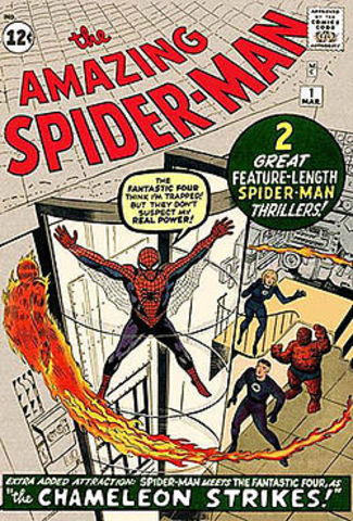 first apperence of spider man