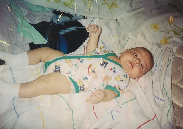 My little brother Christopher was born.