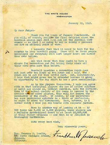 WWII & the Green Light Letter