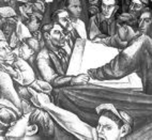 Huelga de los mineros en Gran Bretaña