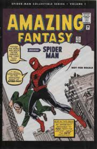 Spiderman comics first appear