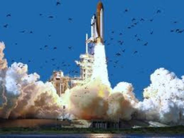 The Explosion of the Challenger Space Shuttle