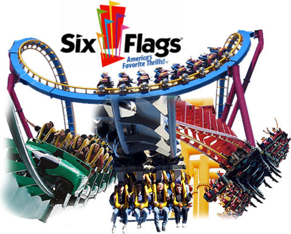 Mi primer dia que fui al Six Flags