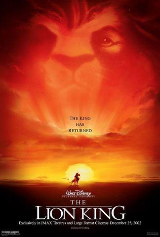 Me enamore con la pelicula Lion King