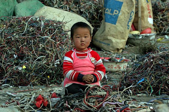 E-waste in Guiya, China