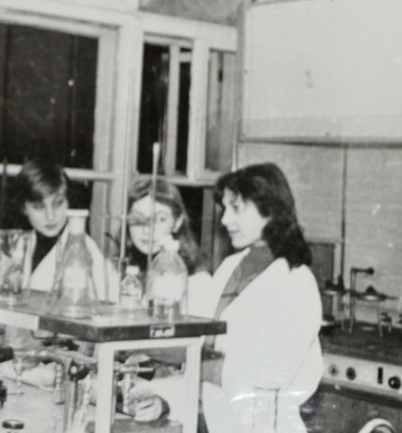 Выпускники химической лаборатории