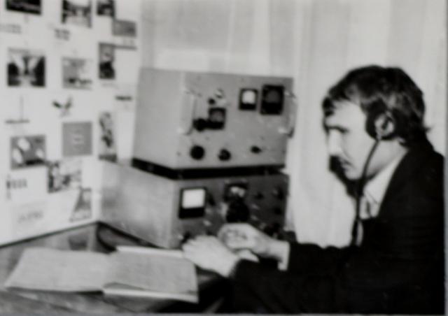 Руководитель кружка радиооператоров