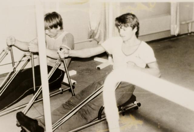 Занятия в тренажерном зале