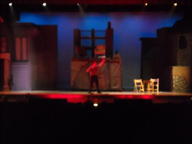 "Joseph designs lighting for ""Sweeney Todd"""