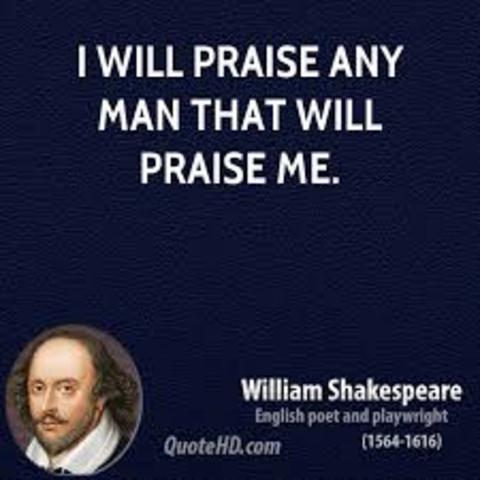 Shakespeare Praised