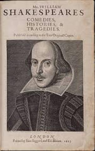 First Folio Published