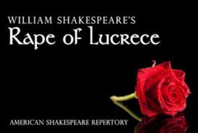 """""""The Rape of Lucrece"""""""