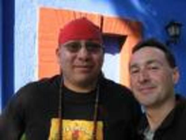 Conoci a mi mejor amigos Josway y Miguel Rangel