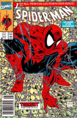 First Appearance Spider-Man in Comics
