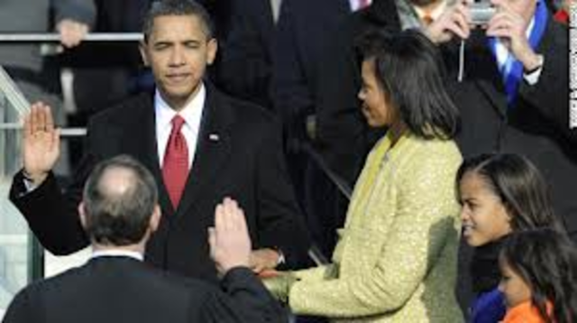 The First Inauguration of Barrack Obama