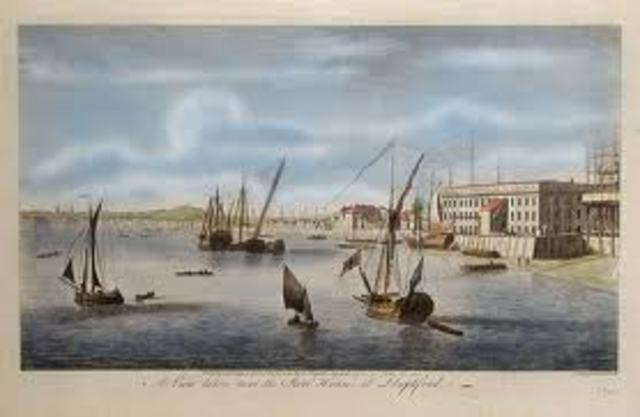First Brittish occupation of the cape