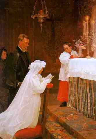 Pablo Picasso - La première communion