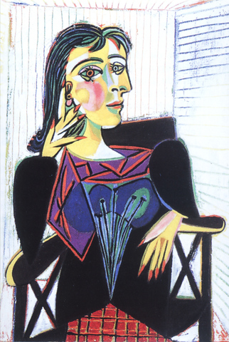Pablo Picasso - Portrait de Dora Maar
