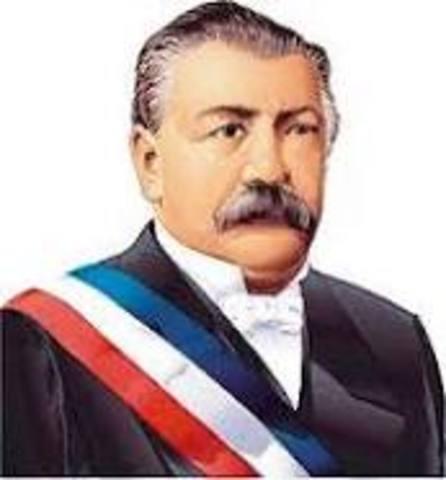 gobierno de Domingo Santa María González 1881-1886