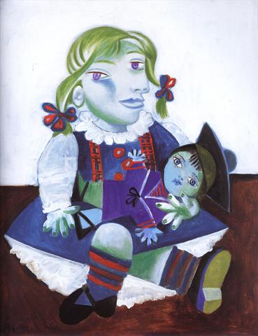 Pablo Picasso - Maya à la poupée
