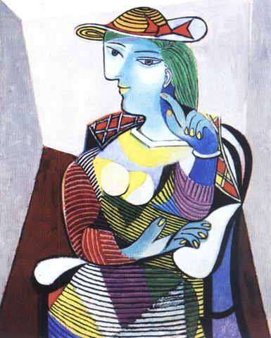 Pablo Picasso - Portrait de Marie-Thérèse