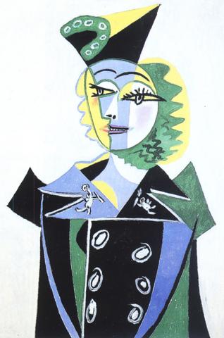 Pablo Picasso - Portrait de Nusch Eluard