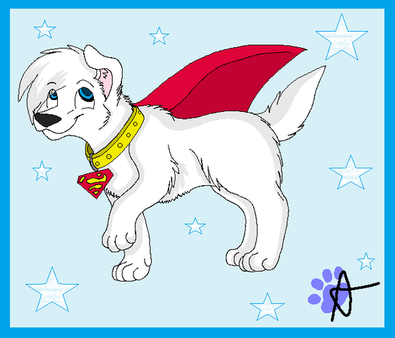 To read about when Krypto the superdog got his powers