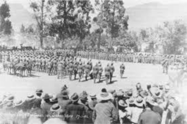 2nd Anglo Boer War starts