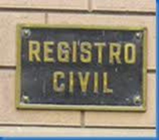 Ley de registro civil