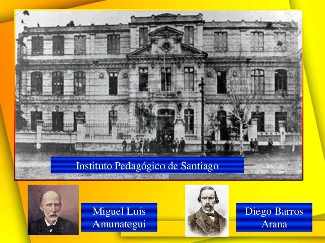 se crea el instituto pedagogico de santiago