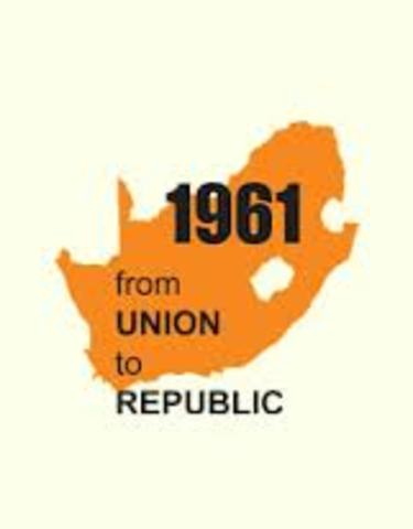 Republic Of South Africa is established