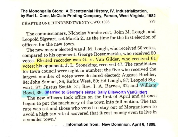 Husband won election as City Recorder