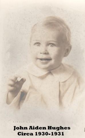 Birth of grandson John Aiden Hughes